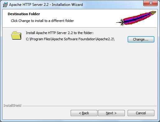 Instalacja Apache zrzut 6