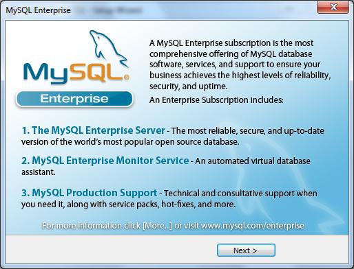Instalacja MySQL zrzut 6