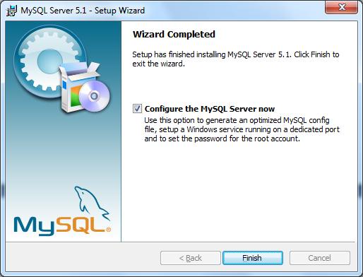 Instalacja MySQL zrzut 8