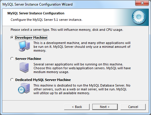 Instalacja MySQL zrzut 11