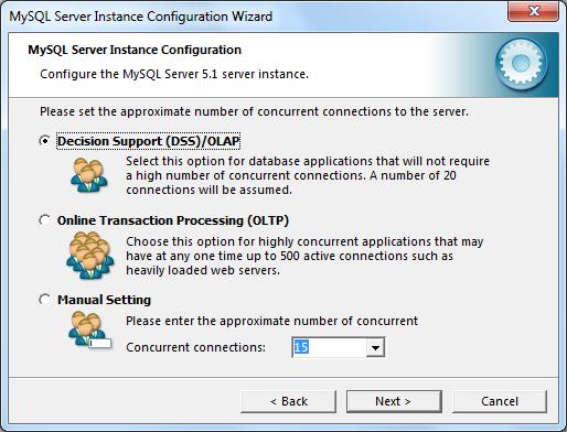 Instalacja MySQL zrzut 14