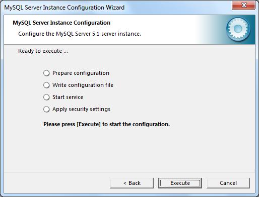 Instalacja MySQL zrzut 19
